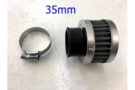 38mm Waterproof Air Filter Cleaner Angle 50cc 110cc 125cc PIT Quad Dirt ATV Bike