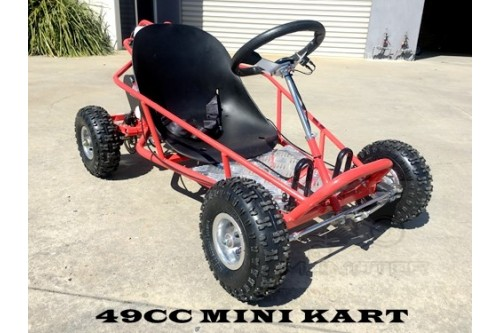 2017 Brand New 49cc Mini Go Kart 4 Wheeler Kids 2 Stroke Buggy Quad Atv black