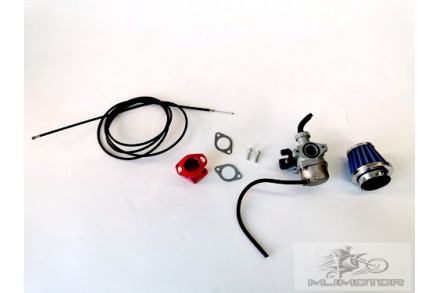 Air Filter Carby Carburetor Throttle Cable GX160 200 6.5hp Performance Kit