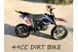 49CC MINI MOTOR DIRT BIKE KIDS POCKET ROCKET PEE WEE MOTORCYCLE ATV 50CC BLACK