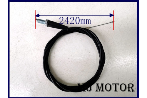 2420mm(242cm) Throttle Cable For 200CC 6.5HP 9HP 270CC Dune Buggy GoKart