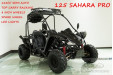 125CC Buggy ATV Sport Quad Dirt Bike 4 Wheel Go kart Semi Auto 3+1 SAHARA PRO