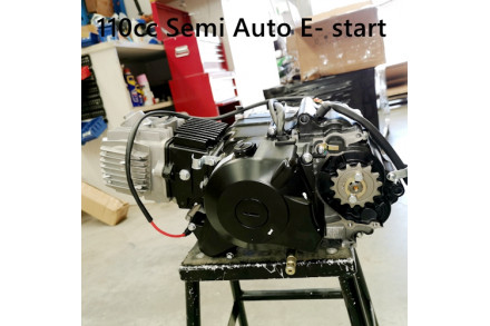 110CC E-START ENGINE 4 STROKE SEMI-AUTO PIT DIRT BIKES QUAD ATV BUGGY KART KICK