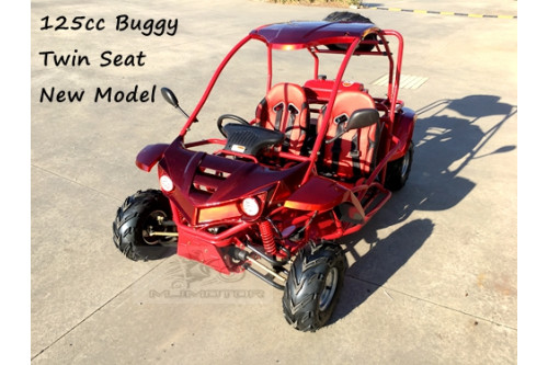 125CC SAHARA Offroad Dune Buggy Atv Quad Twin Seat Right-hand Drive FD With Rev