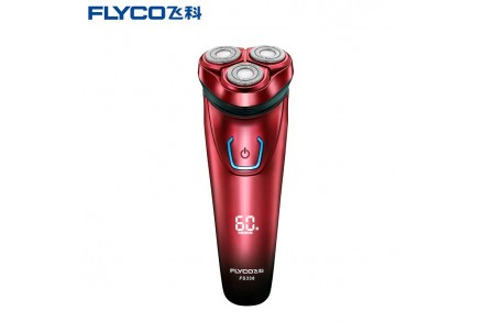 FLYCO FS338 Men Advanced Double-Track Fast Charge Floating Shaver Razor