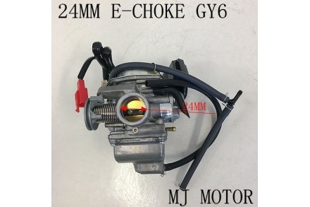 Electric Choke 24mm Carby Carburetor GY6 150cc Buggy Atv Sahara Kandi Fuxin