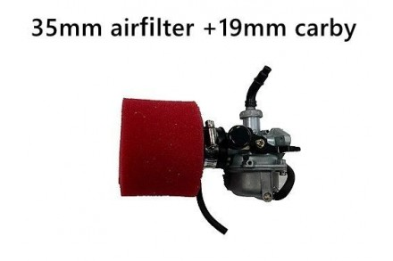 PZ 19mm Carburettor Carby + Foam Air filter 50-125CC BIKE DIRT PIT ATV QUAD
