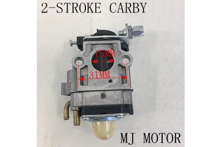 2 Stroke Carburetor 38cc 43cc 49cc petrol scooter pocket quad bike Carby 15mm