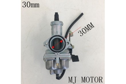 HS PZ 30mm Cable Choke Carby Carburetor 140 150 200 250cc PIT Quad Dirt Bike ATV