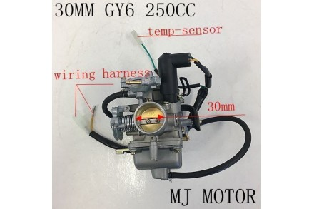 Electric Choke 30mm Carby Carburetor GY6 200 250cc Buggy Atv Sahara Kandi Fuxin