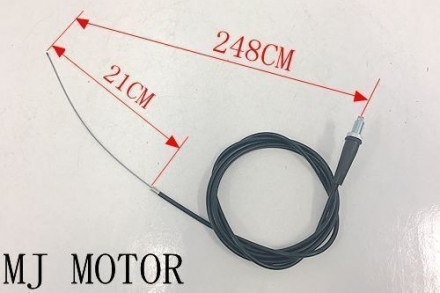 248cm 21cm Twist Throttle Cable Cord Go Kart Drift Trike Project Quad Buggy Atv