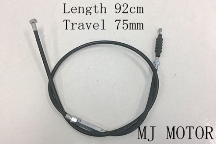 920mm 75mm Clutch Cable Cord Adjustable125cc 140cc PIT PRO TRAIL QUAD DIRT BIKE